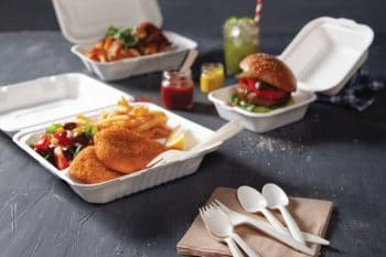 Great to Go Verpackungen Boxen mit Burger