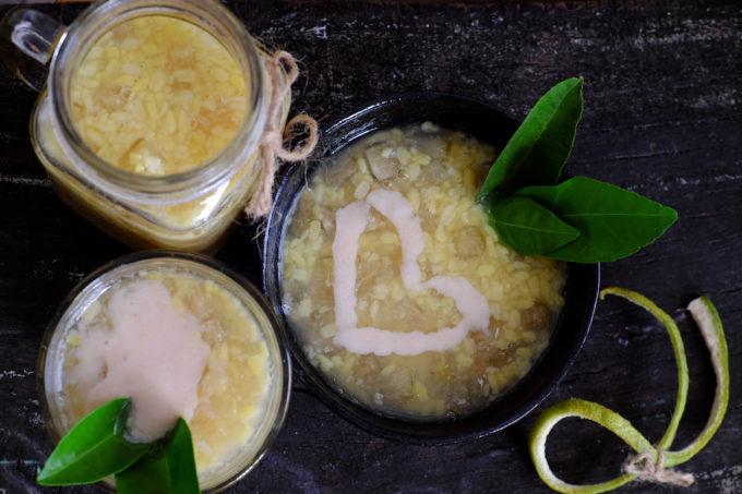 Vietnamesische Dessert Suppe Che Bap Pudding