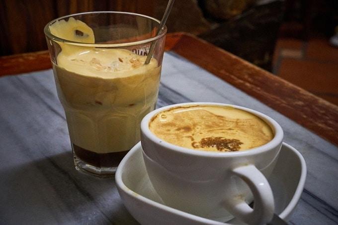 Eierschaum-Kaffee aus Vietnam