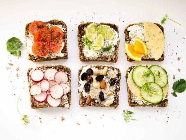 Dänisches Smörrebrod Belegtes Brot gesund