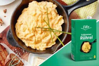 Rührei Fertigteig Eipro Packshot | snackconnection