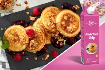 Pancakes Fertigteig Eipro Packshot | snackconnection