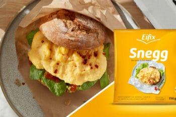 Snegg Rührei Patty Eipro Packshot | snackconnection