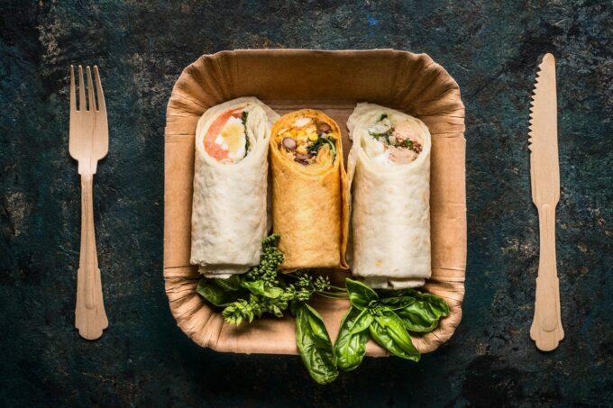 Backwaren_To_Go Verpackung_ Wraps_Nachhaltige_ Verpackungen |snacocnnection