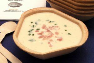Füllet essbare Suppenschale