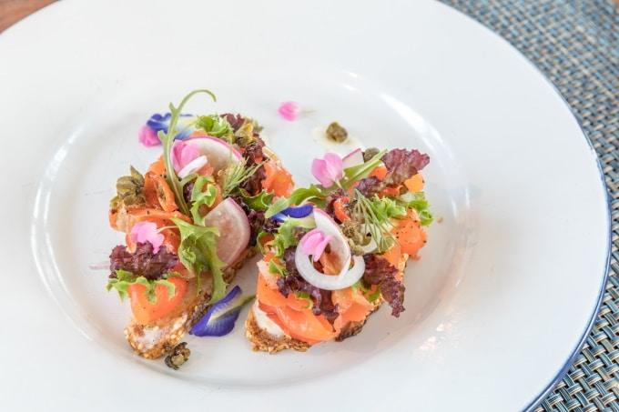Smushi Smörrebröt mit Sushi Räiucherlachs