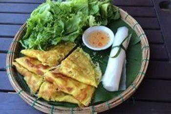 Vietnamesisches Pfannkuchen