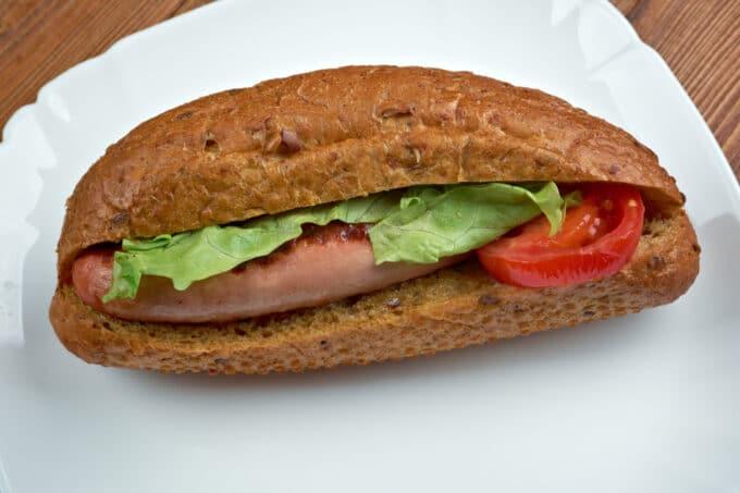 Hot Dog Gesund | snackconnectiom