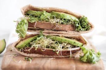 Veganer Avocado Sandwich