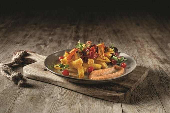 Chef´s Harvest Pommesgericht mit Lachs