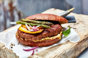 Burger mit Spargel Foodworks | snackconnection
