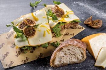Feigen Viamala mit Minze und Käse