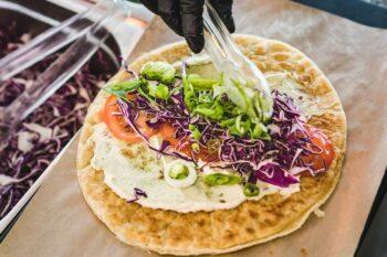 herzhafter Pfannkuchen Salat | snackconnection