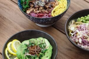 Salat Bowls als Street Food in Dänemark