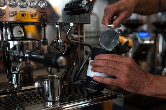 Kaffeemaschine Mehrwegbecher Kaffee to Go