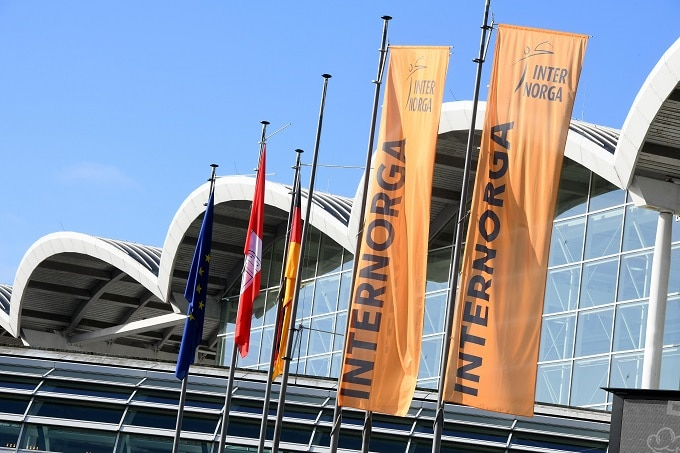 Internorga 2020 Messe Fahnen