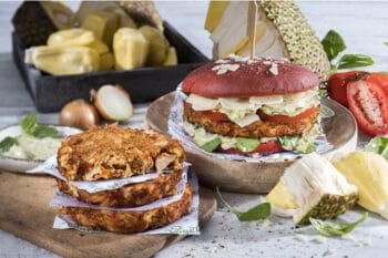 Jackfruit Burger Mediterran ECF Vegeta