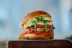 Burger Avocado Tomaten |snackconnection