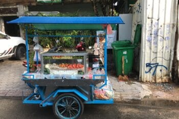 Street Food Stand Obst Thailand |snackconnection