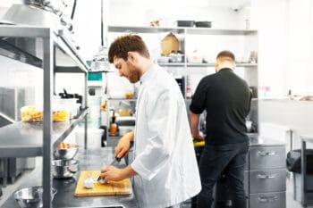 Köche in der Gastroküche