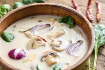 Thailändische Suppe