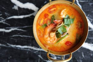 Tom Yam Thailändische Garnelensuppe |snackconnection