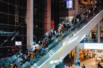 Shopping Mall Bangkok Thailand