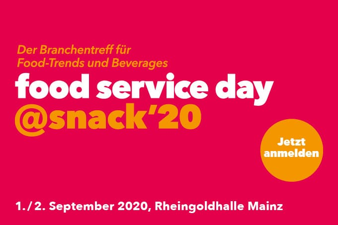 Foodservice day snack 2020