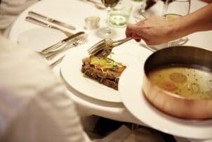 Tafelspitz im wiener Restaurant