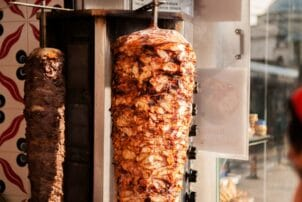 Fleischspieß für Döner Kebab
