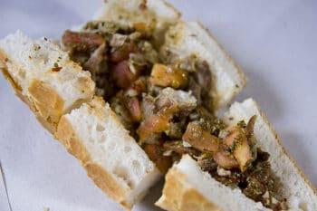 Kokorec Fleischsandwich Türkei