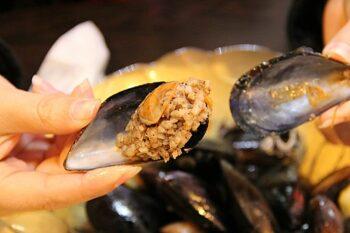 Midye Dolma gefüllte Muscheln