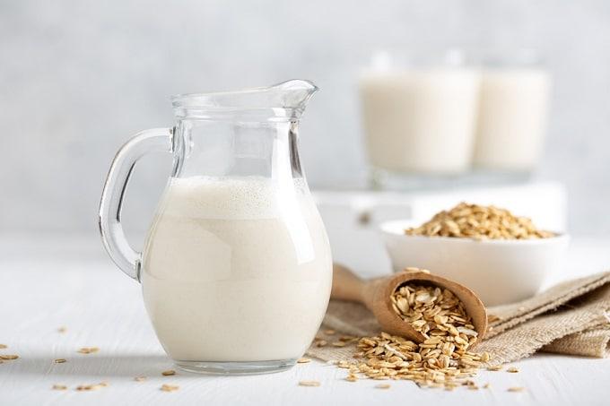 Hafermilch als Milchalternativen