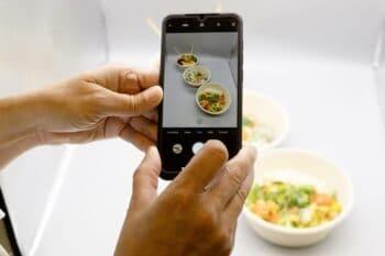 Smartphone Menüschalen