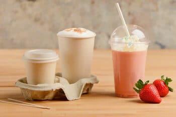 Heißgetränke und Milkshake Verpackung