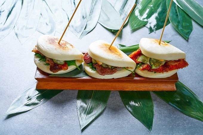 Asia Sandwich mit getrockneten Tomaten