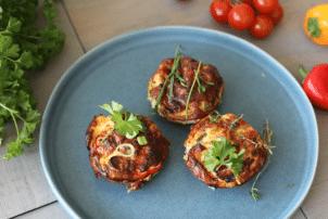 Gemüse Kräuter Muffin
