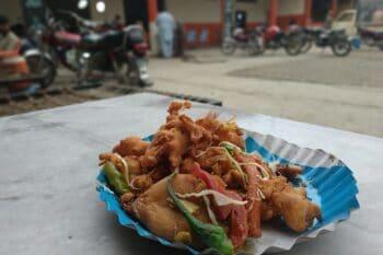 Pakora Street Food Indien