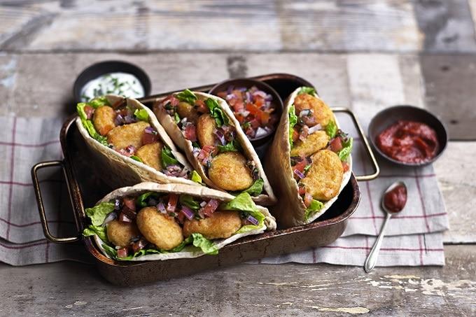 Vegane Kebab Tasche