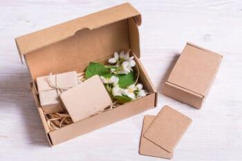 Verpackung aus Pappe