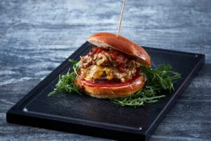 Burger Nordic Craft Pilze Bacon Tulip | snackconnection