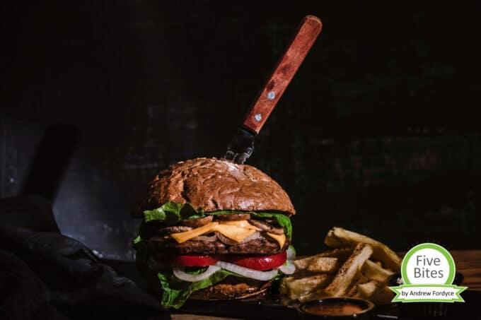 Premium Burger Five Bites| snackconnection