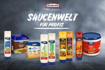 Homann verschiedene Saucen snackconnection