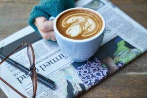 Kaffee Zeitung snackconnection