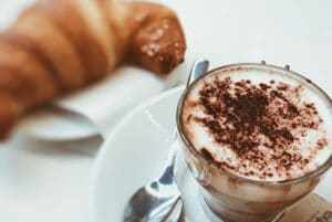 Kaffee Croissant Snack snackconnection