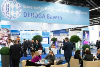 Hoga Messe Messestand Dehoga Bayern / snackconnection