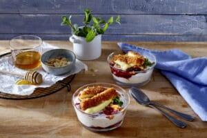 Alpenhain Back-Camembert mit Mangocreme snackconnection