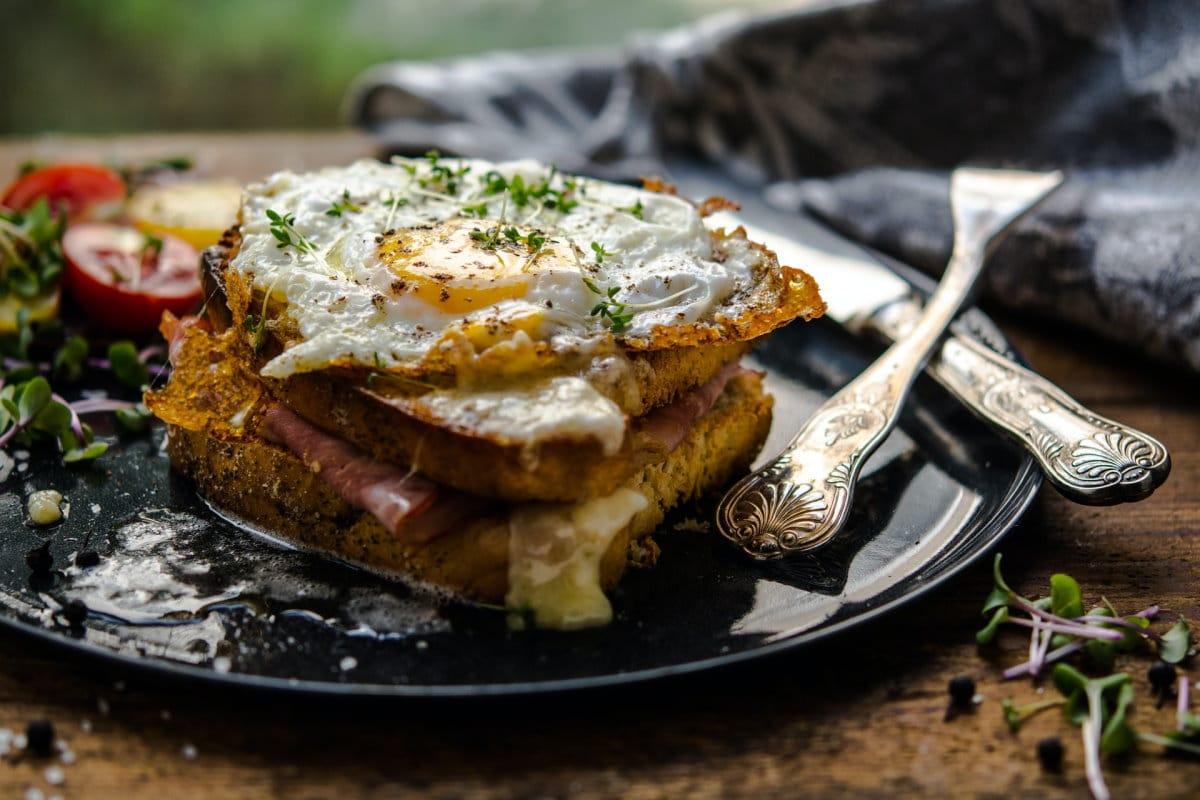 Sandwich Croque Madame Frankreich snackconnection