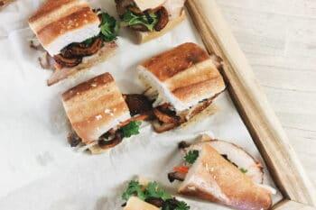 Spanisches Sandwich mit Fisch / snackconnection