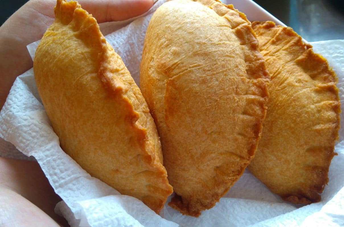 Spanische Empanadas Street Food / snackconnection
